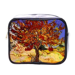 Vincent Van Gogh Mulberry Tree Mini Travel Toiletry Bag (One Side)