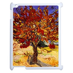 Vincent Van Gogh Mulberry Tree Apple iPad 2 Case (White)