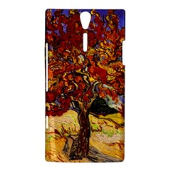 Vincent Van Gogh Mulberry Tree Sony Xperia S Hardshell Case