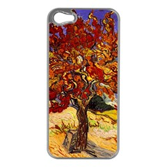 Vincent Van Gogh Mulberry Tree Apple Iphone 5 Case (silver)