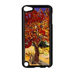 Vincent Van Gogh Mulberry Tree Apple iPod Touch 5 Case (Black)