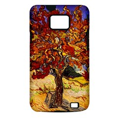 Vincent Van Gogh Mulberry Tree Samsung Galaxy S II i9100 Hardshell Case (PC+Silicone)