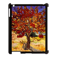 Vincent Van Gogh Mulberry Tree Apple iPad 3/4 Case (Black)