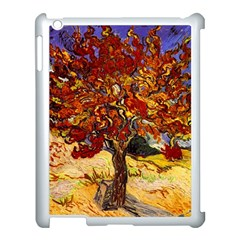 Vincent Van Gogh Mulberry Tree Apple iPad 3/4 Case (White)