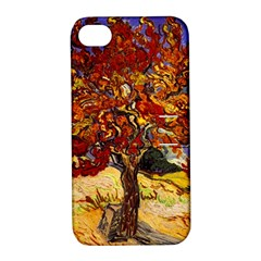 Vincent Van Gogh Mulberry Tree Apple iPhone 4/4S Hardshell Case with Stand