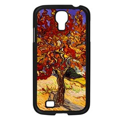 Vincent Van Gogh Mulberry Tree Samsung Galaxy S4 I9500/ I9505 Case (Black)