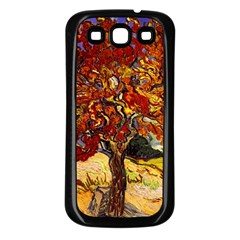 Vincent Van Gogh Mulberry Tree Samsung Galaxy S3 Back Case (Black)