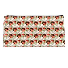 Vintage Valentine Pencil Case