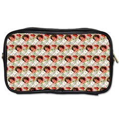 Vintage Valentine Travel Toiletry Bag (Two Sides)