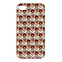 Vintage Valentine Apple iPhone 4/4S Premium Hardshell Case