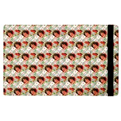 Vintage Valentine Apple iPad 3/4 Flip Case