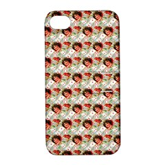 Vintage Valentine Apple iPhone 4/4S Hardshell Case with Stand