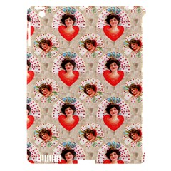 Vintage Valentine Apple iPad 3/4 Hardshell Case (Compatible with Smart Cover)