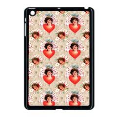 Vintage Valentine Apple iPad Mini Case (Black)