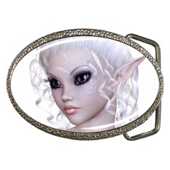 Fairy Elfin Elf Nymph Faerie Belt Buckle (Oval)