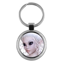 Fairy Elfin Elf Nymph Faerie Key Chain (Round)