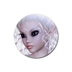 Fairy Elfin Elf Nymph Faerie Drink Coaster (round)