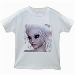 Fairy Elfin Elf Nymph Faerie Kids' T-shirt (White)