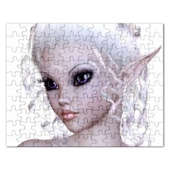 Fairy Elfin Elf Nymph Faerie Jigsaw Puzzle (rectangle)