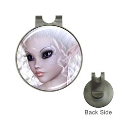 Fairy Elfin Elf Nymph Faerie Hat Clip With Golf Ball Marker