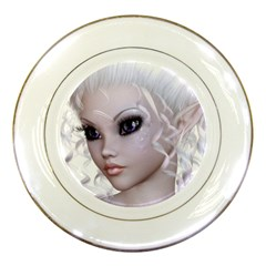Fairy Elfin Elf Nymph Faerie Porcelain Display Plate