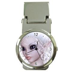 Fairy Elfin Elf Nymph Faerie Money Clip with Watch