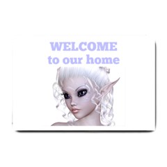 Fairy Elfin Elf Nymph Faerie  Small Door Mat