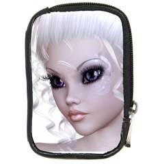 Fairy Elfin Elf Nymph Faerie Compact Camera Leather Case