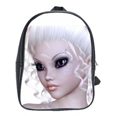 Fairy Elfin Elf Nymph Faerie School Bag (Large)