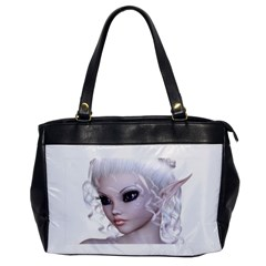 Fairy Elfin Elf Nymph Faerie Oversize Office Handbag (one Side)
