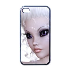 Fairy Elfin Elf Nymph Faerie Apple iPhone 4 Case (Black)