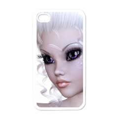 Faerie Nymph Fairy Apple iPhone 4 Case (White)