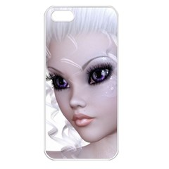 Fairy Elfin Elf Nymph Faerie Apple Iphone 5 Seamless Case (white)