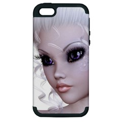 Faerie Nymph Fairy Apple iPhone 5 Hardshell Case (PC+Silicone)