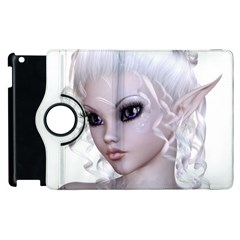 Fairy Elfin Elf Nymph Faerie Apple iPad 3/4 Flip 360 Case