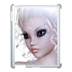 Fairy Elfin Elf Nymph Faerie Apple iPad 3/4 Case (White)