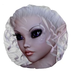 Fairy Elfin Elf Nymph Faerie 18  Premium Round Cushion