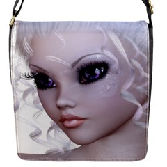 Fairy Elfin Elf Nymph Faerie Flap Closure Messenger Bag (small)