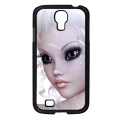 Fairy Elfin Elf Nymph Faerie Samsung Galaxy S4 I9500/ I9505 Case (Black)