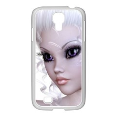 Fairy Elfin Elf Nymph Faerie Samsung Galaxy S4 I9500/ I9505 Case (white)