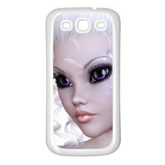 Faerie Nymph Fairy Samsung Galaxy S3 Back Case (White)