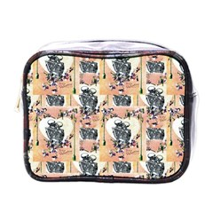 Till Death Mini Travel Toiletry Bag (One Side)