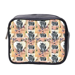 Till Death Mini Travel Toiletry Bag (Two Sides)