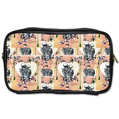 Till Death Travel Toiletry Bag (One Side)