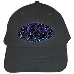 Glitter 1 Black Baseball Cap