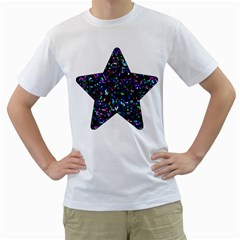Glitter 1 Men s T-shirt (White)