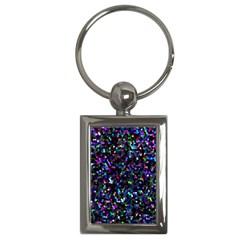 Glitter 1 Key Chain (Rectangle)