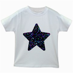 Glitter 1 Kids T-shirt (White)