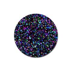 Glitter 1 Magnet 3  (Round)