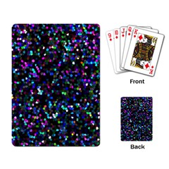 Glitter 1 Playing Cards Single Design